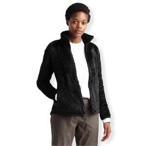The North Face Osito Black Fleece Jacket—S